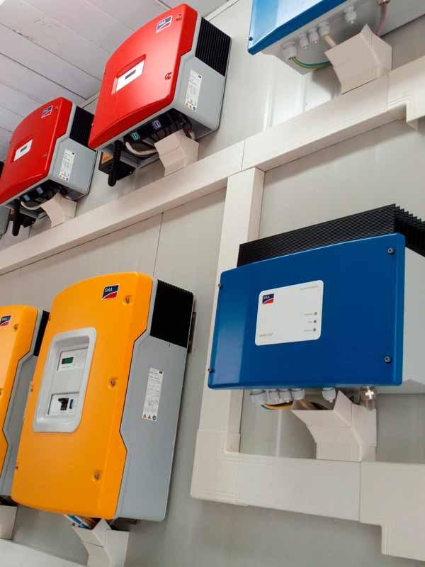 tableros instalación de paneles solares
